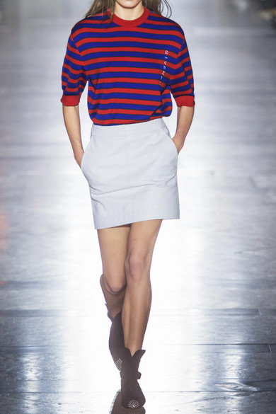 Givenchy Gestreifter Pullover aus einer Baumwollmischung