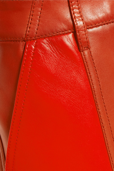 Givenchy Eng geschnittene Hose aus Leder