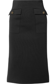 Givenchy Crepe midi skirt