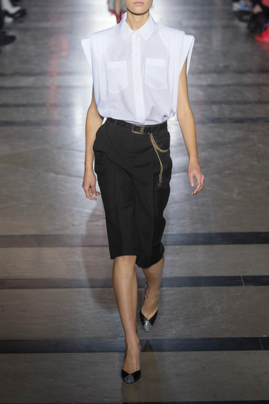 Givenchy Shorts aus einer Woll-Mohairmischung