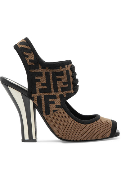 reliable online official cheap price Fendi Suede Mesh Sandals outlet where to buy lowest price cheap online frZwR