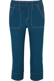Chloé Cropped high-rise skinny jeans