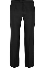 Chloé Wool and silk-blend straight-leg pants