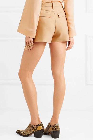 Chloé Shorts aus einer Wollmischung