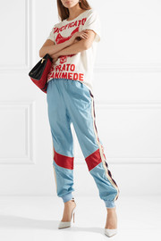 Gucci Striped shell track pants