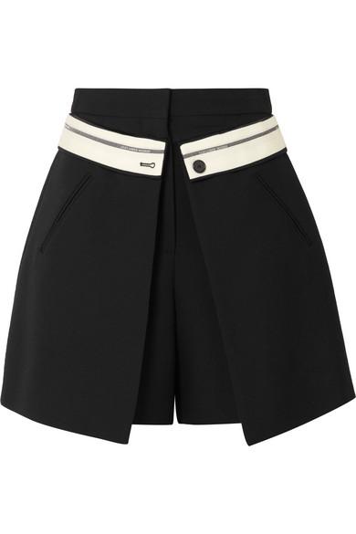 Mit Paypal Günstigem Preis Alexander McQueen Shorts aus Crêpe aus einer Wollmischung Outlet Kaufen X3i258mz9