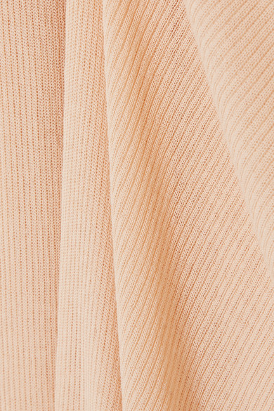 Stella McCartney Mehrlagiges Midikleid aus einer Baumwollmischung