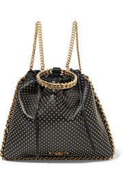 Blink studded leather backpack