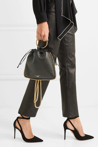 Blink studded leather backpack