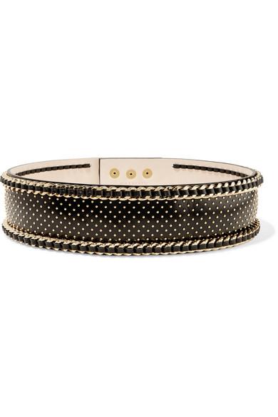 c323dfe119 Balmain   Embellished leather waist belt   NET-A-PORTER.COM