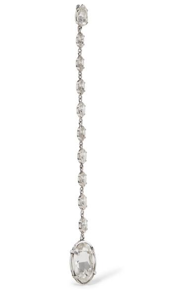 Saint Laurent Ruffle Clip-On Earrings Nlzd6