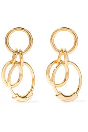 Chloé Reese small gold-tone earrings