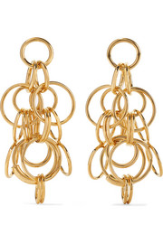 Reese gold-tone earrings