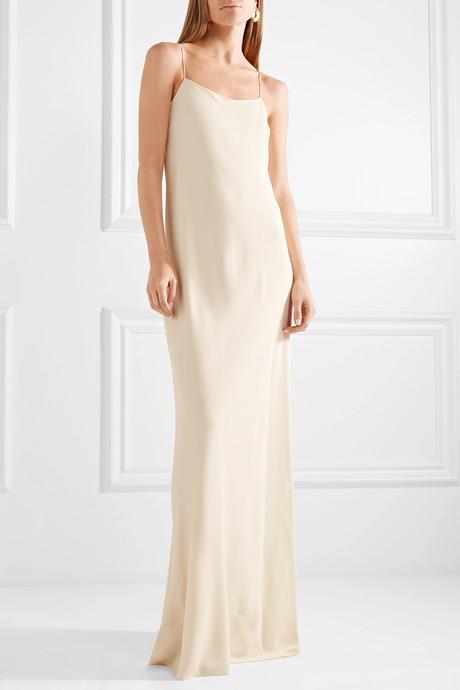 Ebbins crepe maxi dress