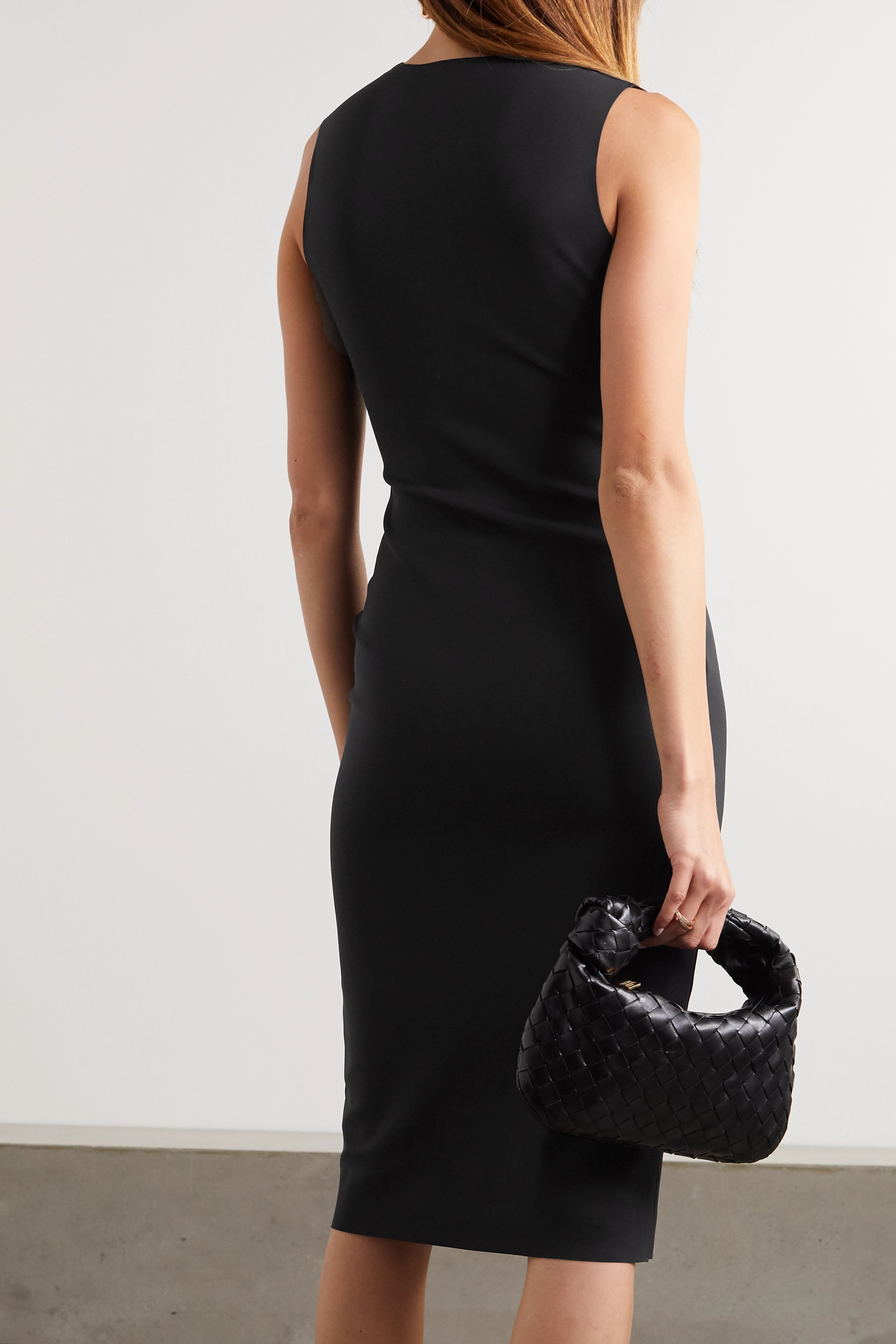 The Row Devi stretch-scuba dress