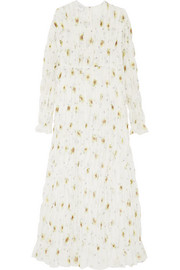 Giambattista Valli Tiered floral-print silk-chiffon maxi dress