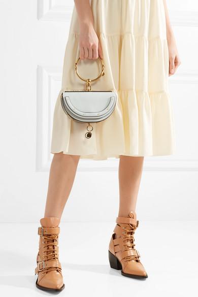 d2d6b302db Nile Bracelet mini textured-leather shoulder bag