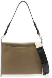 Roy leather shoulder bag