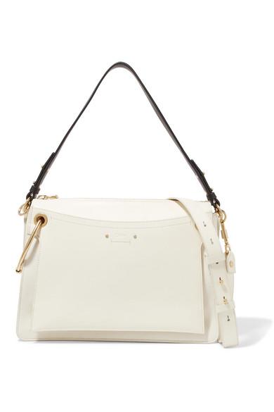 62fe7c725d Roy medium leather and suede shoulder bag