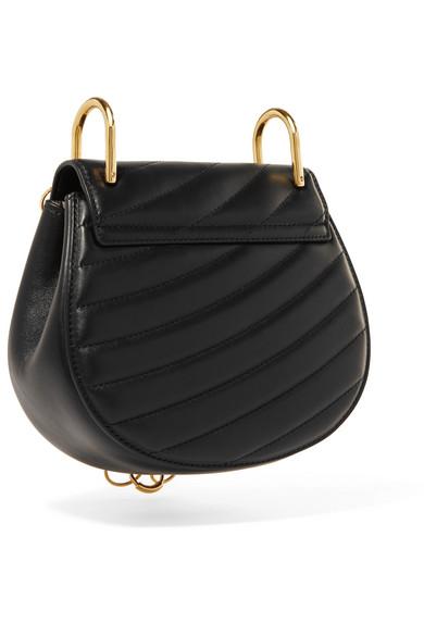 35144ef408 Chloé | Drew Bijou quilted leather shoulder bag | NET-A-PORTER.COM