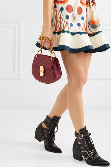 1a875744931 Drew Bijou quilted leather shoulder bag