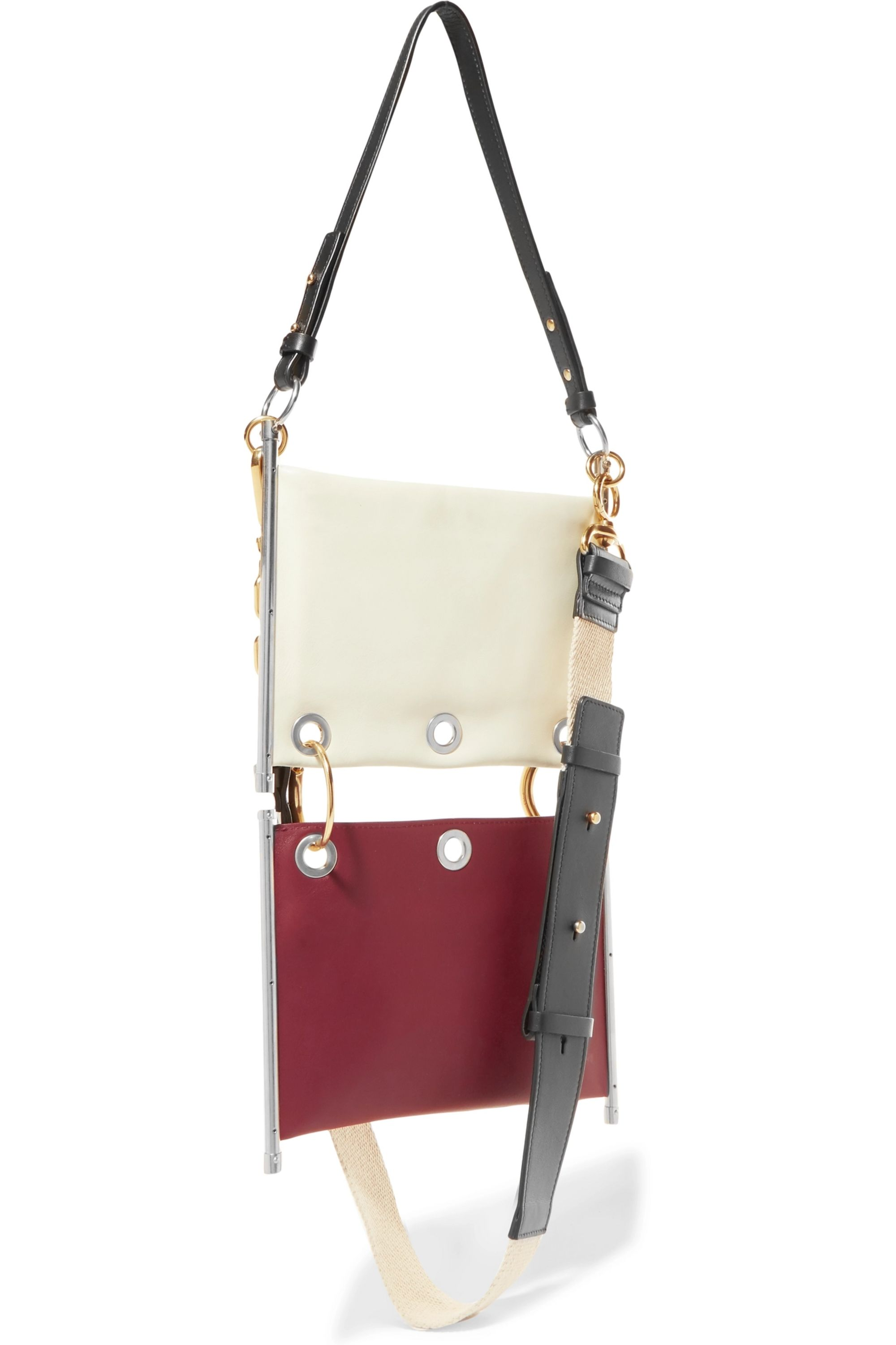 Chloé Roy convertible two-tone leather shoulder bag