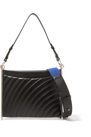 Roy quilted leather shoulder bag