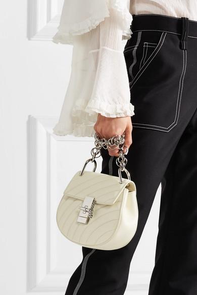 ae74d544da Drew Bijou quilted leather shoulder bag
