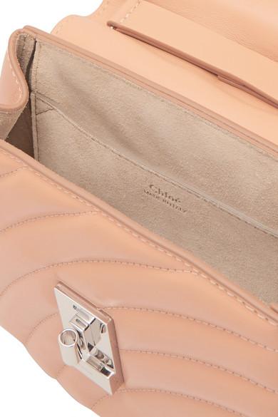 Unter 70 Dollar Chloé Drew Bijou Schultertasche aus gestepptem Leder Spielraum Großhandelspreis Geniue Händler Verkauf Online Niedriger Versand wCLtnl