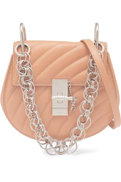 mini Drew Bijou quilted leather bag - Black Chlo nZKUyII5Fd