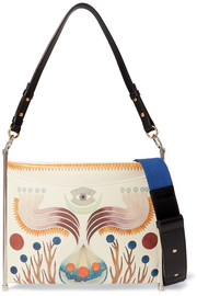 Chloé Roy printed textured-leather shoulder bag