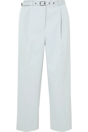 Bottega Veneta Stretch-cotton straight-leg pants