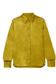 Bottega Veneta Washed silk-satin shirt
