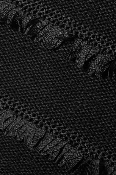 aus Robe Rebecca Fransen SIX geh盲kelten gestufte mit ELEVEN Baumwollmischung einer Fq1OnItPxw