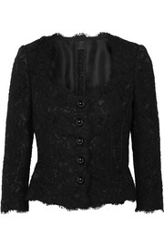 Guipure lace blouse