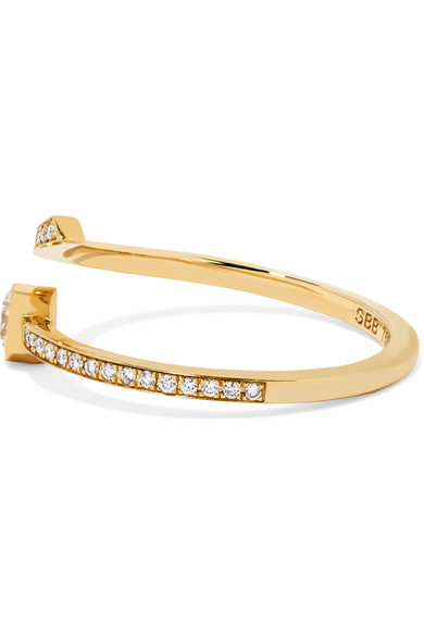 Sophie Bille Brahe Grand Amour 18-karat Gold Diamond Ring wnFatYbD