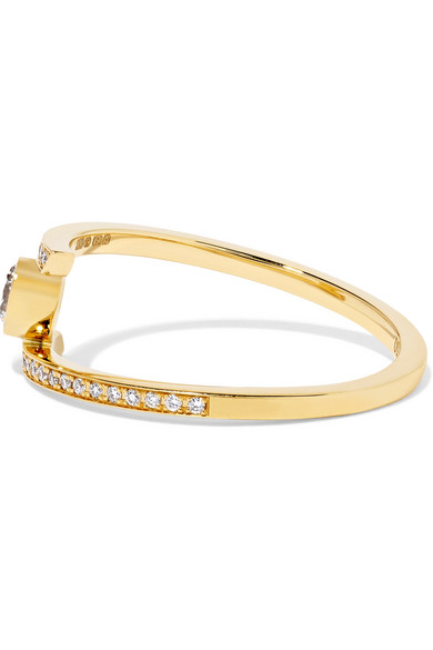 Grand Amour 18-karat Gold Diamond Ring - 54 Sophie Bille Brahe Fb8la