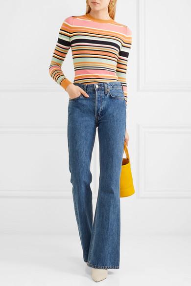 JoosTricot Gestreifter Pullover aus einer Baumwollmischung