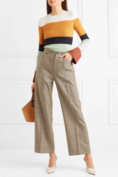 JoosTricot Pullover aus einer gerippten Baumwollmischung mit Streifen