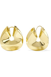 Siouxsie gold-plated earrings