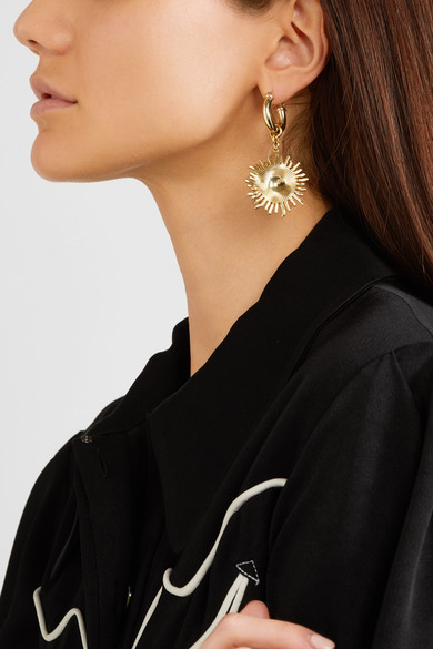 Ellery. Scully gold-plated hoop earrings