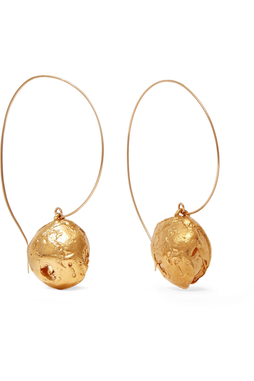 Alighieri Starless Sky gold-plated earrings