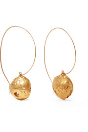 Starless Sky gold-plated earrings