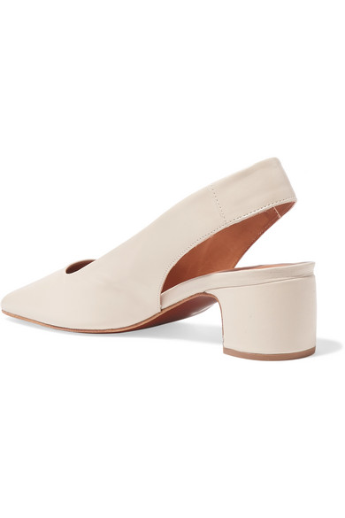 City ​​father Danielle Slingback-pumps Aus Leader