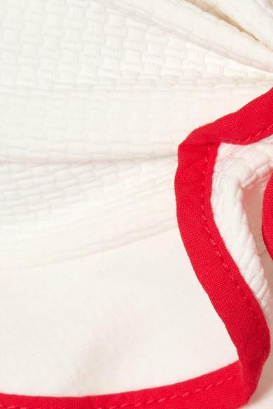 Marysia Zuma Bikini-Oberteil mit Neckholder und Rüschen