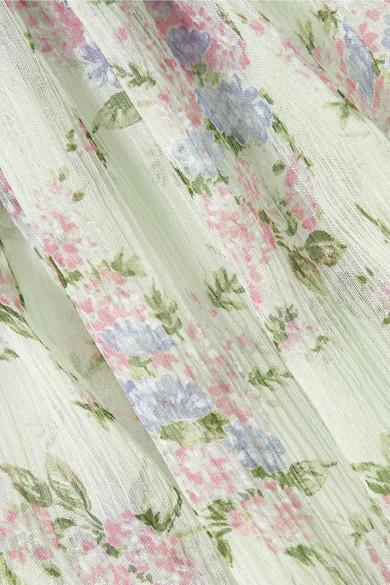 Paul & Joe Varennes Bluse aus Seidenchiffon mit Blumendruck