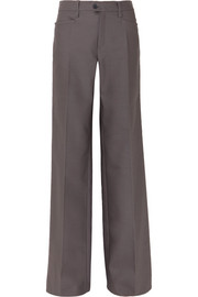 Chloé Wool-blend wide-leg pants