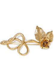 Delilah gold-plated hairclip