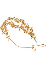 Adele gold-plated headband