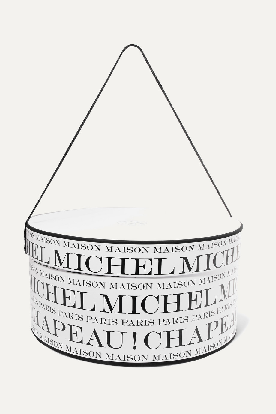 Maison Michel Printed hat box